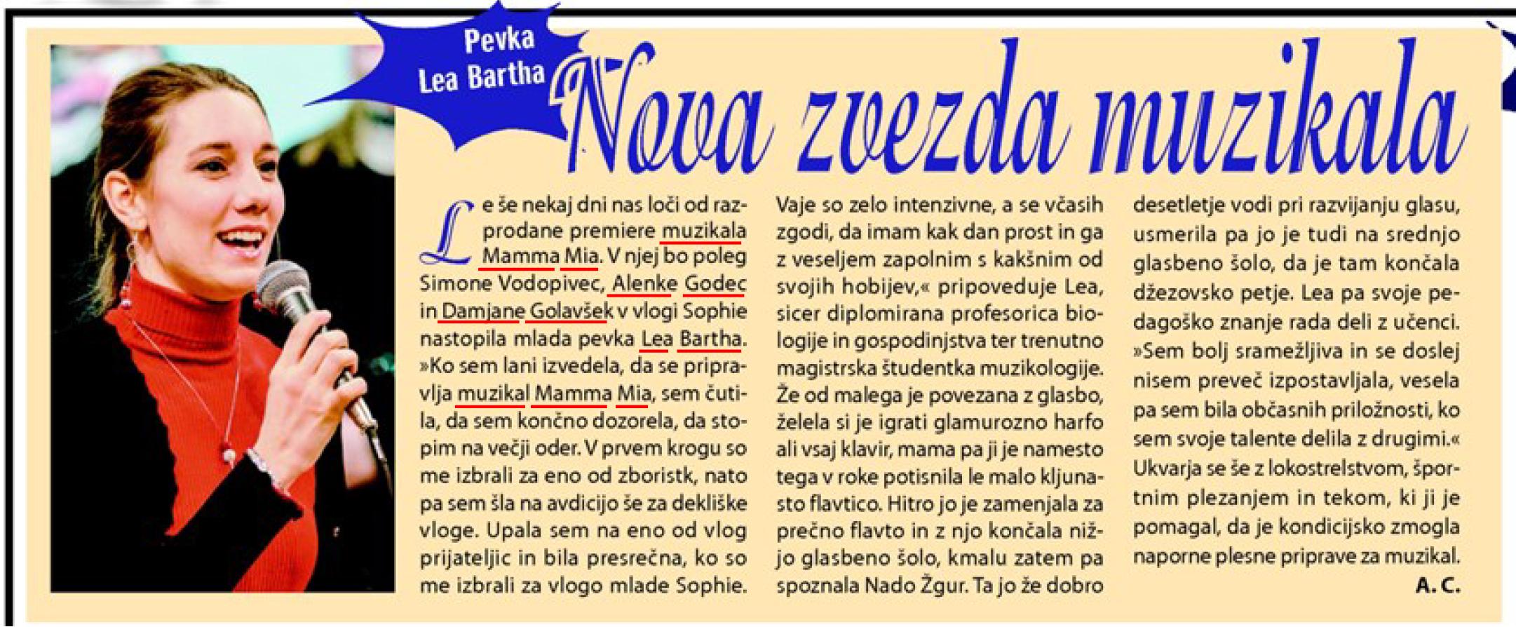 Revija Lady 26.5.2015