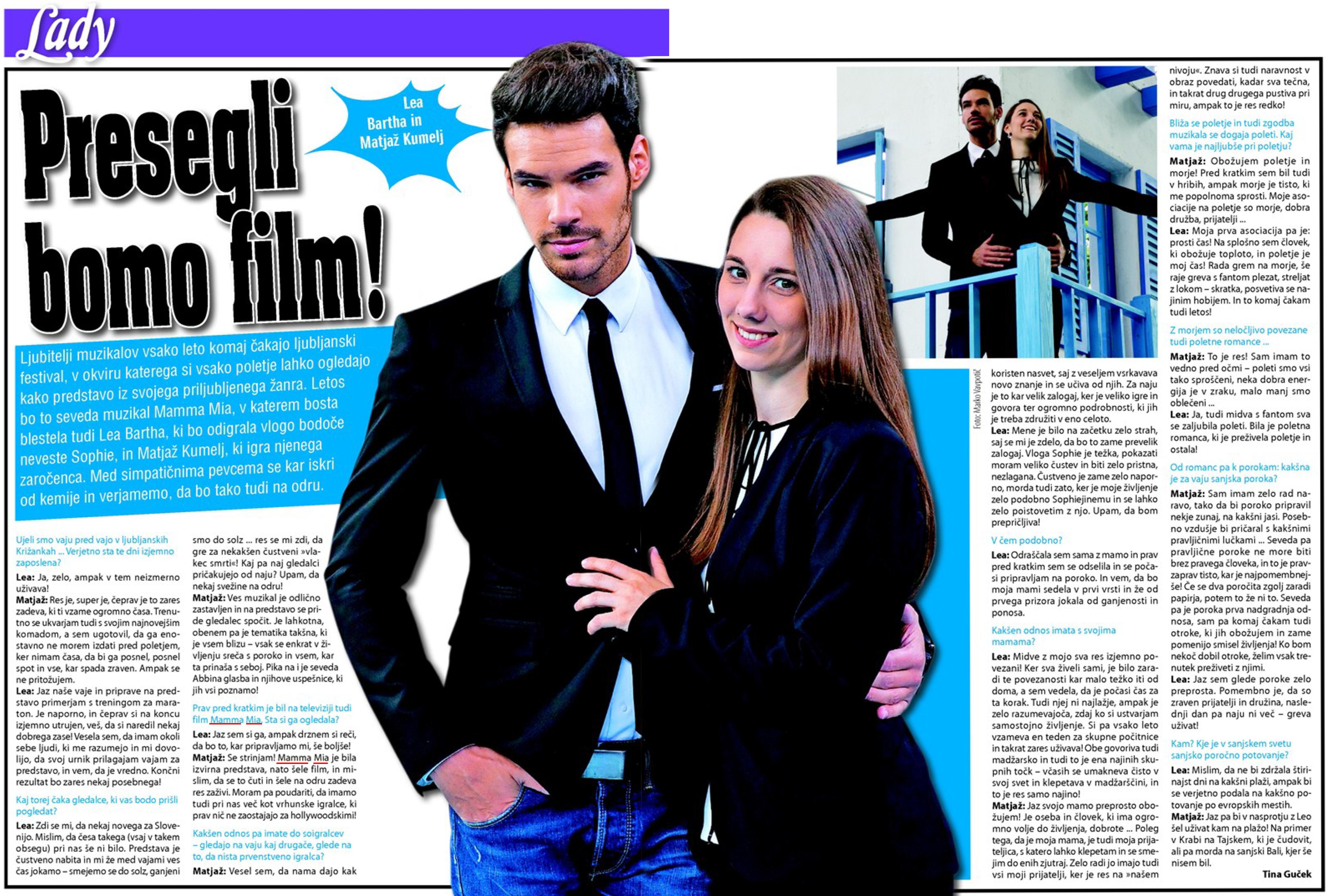 Revija Lady 1. 6. 2015